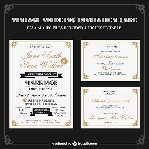 conjunto de de boda vintage