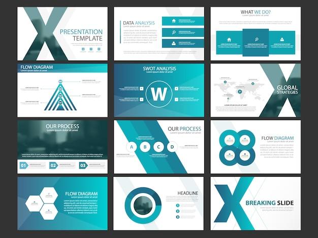 conjunto de plantillas de elementos de infograf u00eda de