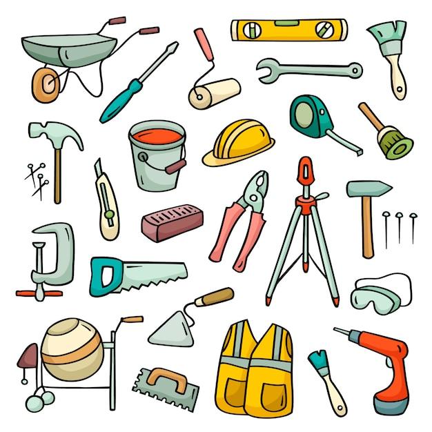 Conjunto de herramientas operativas Vector Premium