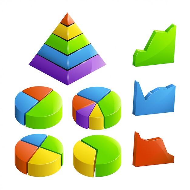 Conjunto pequeño de negocios Vector Premium