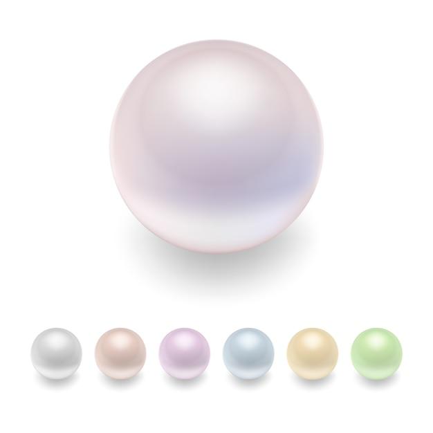 Conjunto de perlas Vector Premium