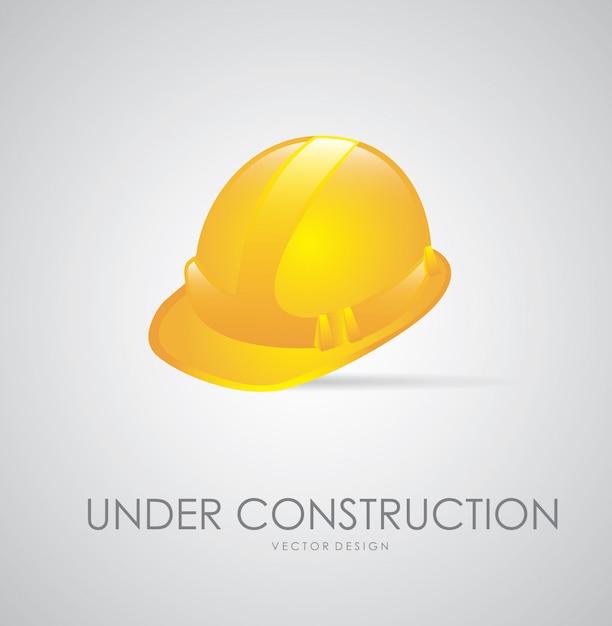 En construcción vector gratuito