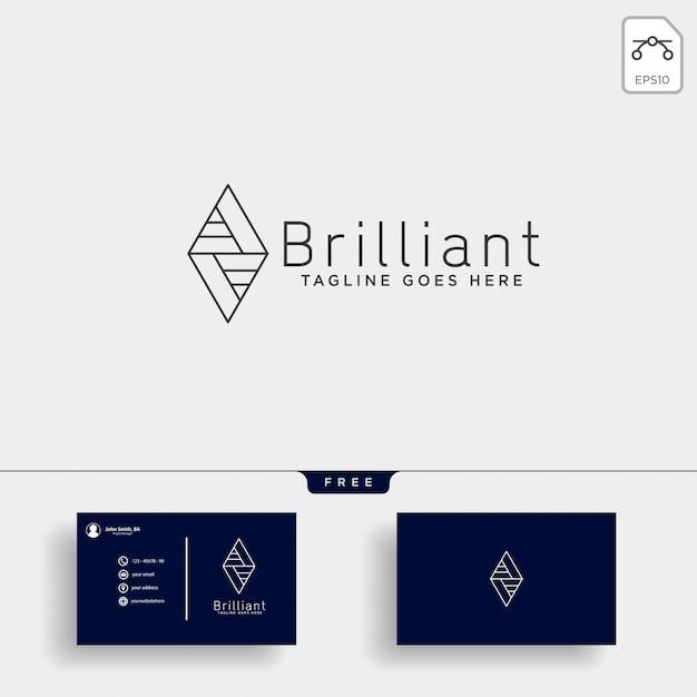 Consulte la ilustración de la plantilla del logotipo de estadísticas Vector Premium