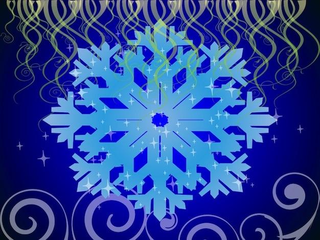 Vector Copo De Nieve: Copo De Nieve De Fondo De Pantalla