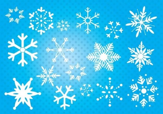 Vector Copo De Nieve: Descargar Vectores Gratis