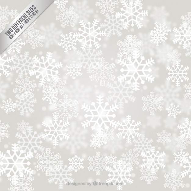 Copos de nieve blancos fondo | Descargar Vectores gratis