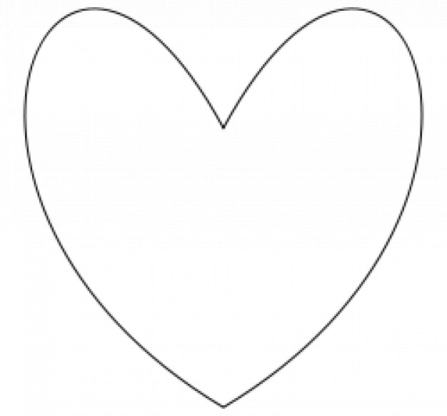 Corazón sencillo | Descargar Vectores gratis