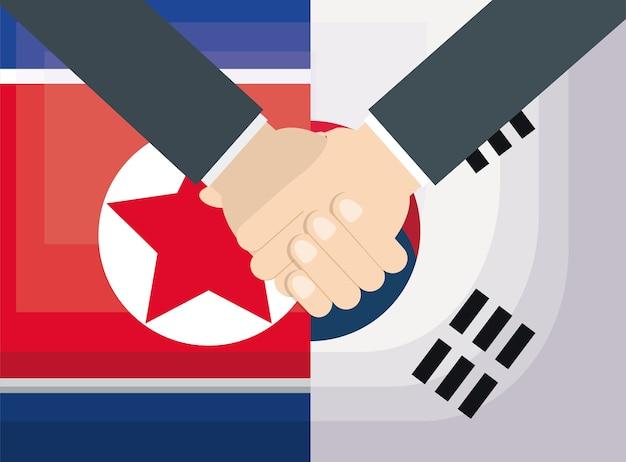 Corea Del Sur Bandera