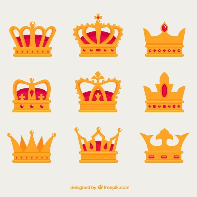Coronas Decorativas Con Diferentes Tipos De Diseños Descargar