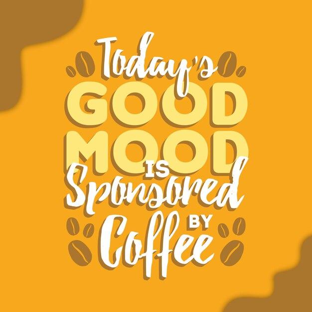 Cotizaciones de café Vector Premium