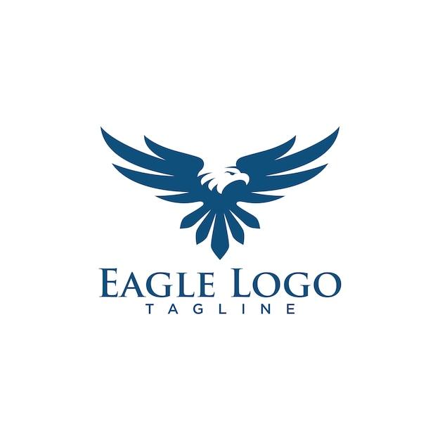 Creative eagle logo stock vector Vector Premium