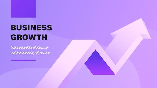 El crecimiento del negocio. Vector Premium