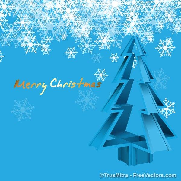 Cristal del rbol de navidad con copos de nieve - Arbol navidad nieve ...