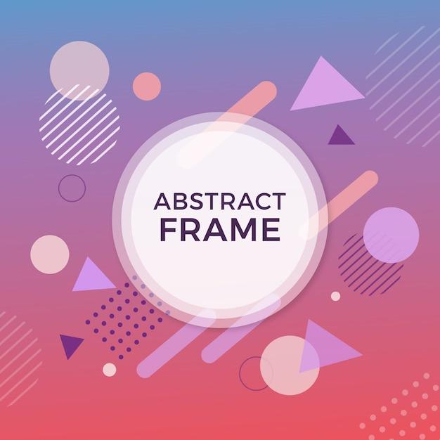 Cuadro abstracto vector gratuito
