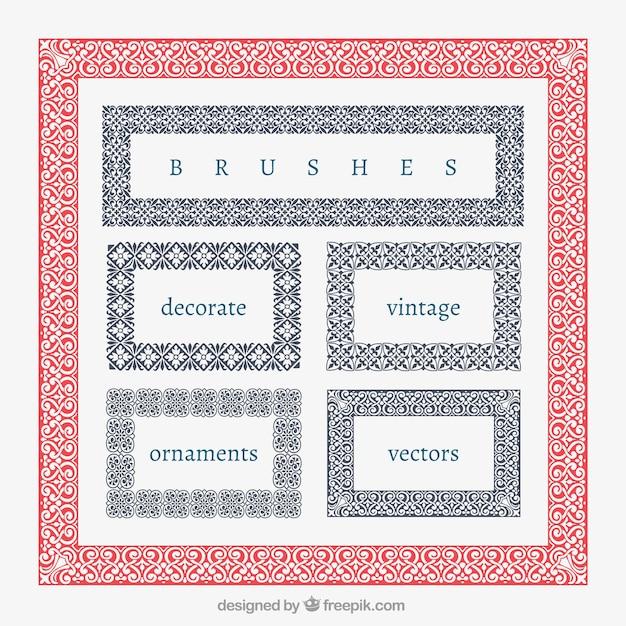 Cuadros decorativos vintage | Descargar Vectores Premium
