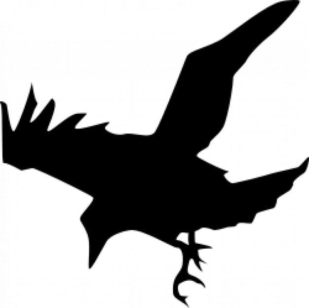 cuervo volando | Descargar Vectores gratis