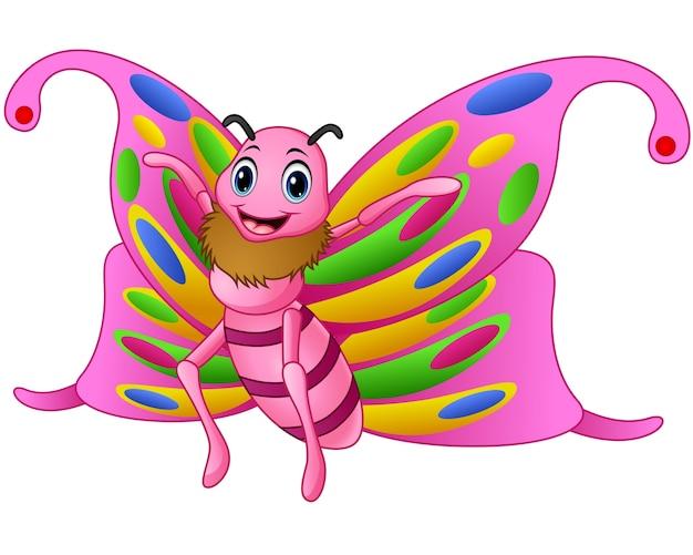 Cute Dibujos Animados De Mariposas