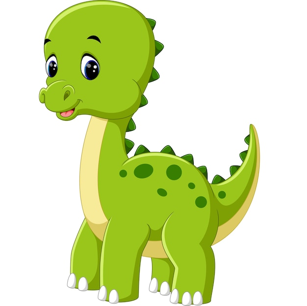 Cute Dibujos Animados De Dinosaurios
