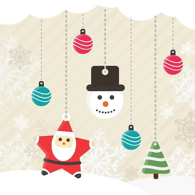 Decoraci n de navidad de estilo vintage descargar - Decoracion navidad vintage ...