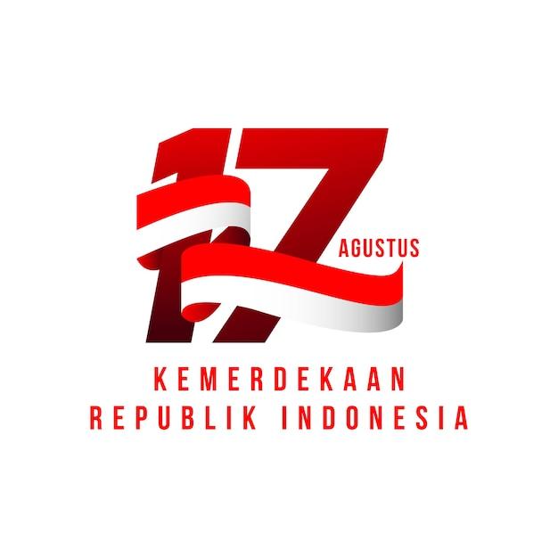 Día independiente de indonesia | Descargar Vectores Premium
