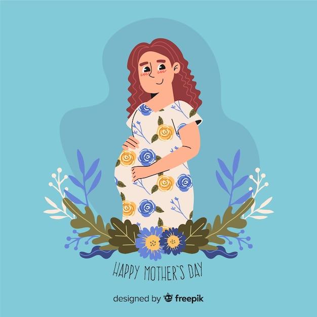 Día de la madre vector gratuito