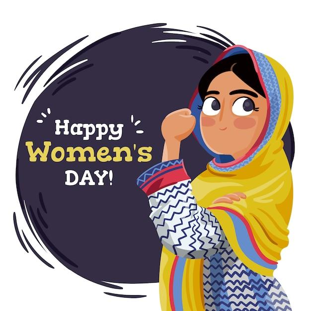 Dia De La Mujer Descargar Vectores Gratis