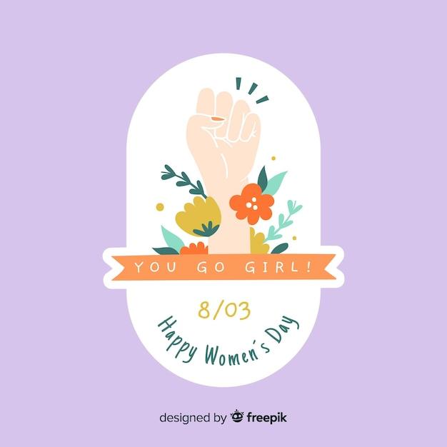 Día de la mujer vector gratuito