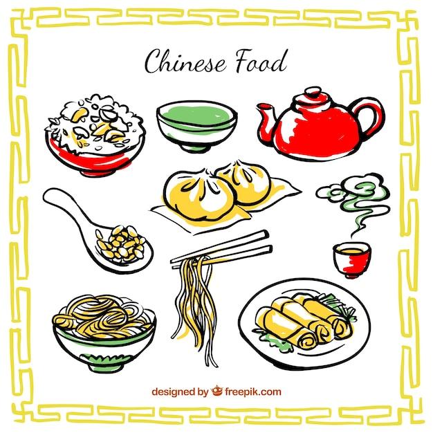Comida China Vectores Fotos De Stock Y Psd Gratis