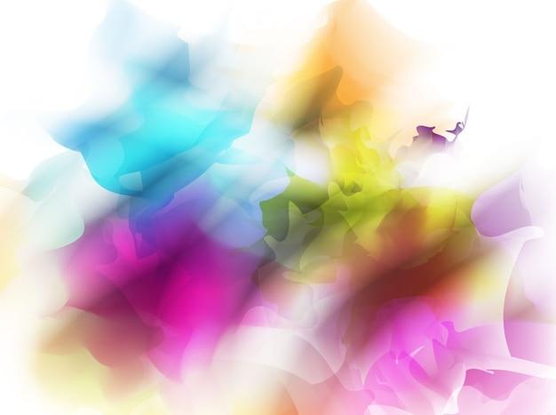 Fondos Abstractos De Colores: Dibujo Abstracto Con Muchos Colores Para El Fondo