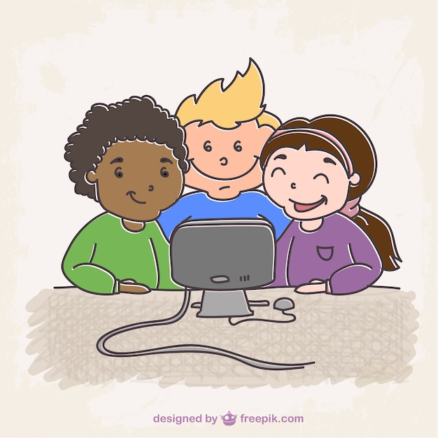 dibujo estudiantes con ordenador descargar vectores gratis grandparents clip art free grandparents clip art black and white