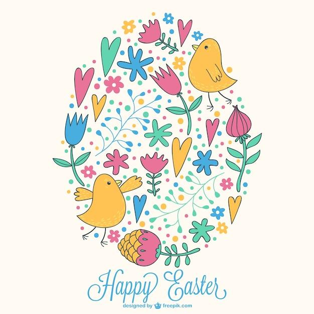 Dibujo Vectorial Pascua Descargar Vectores Gratis