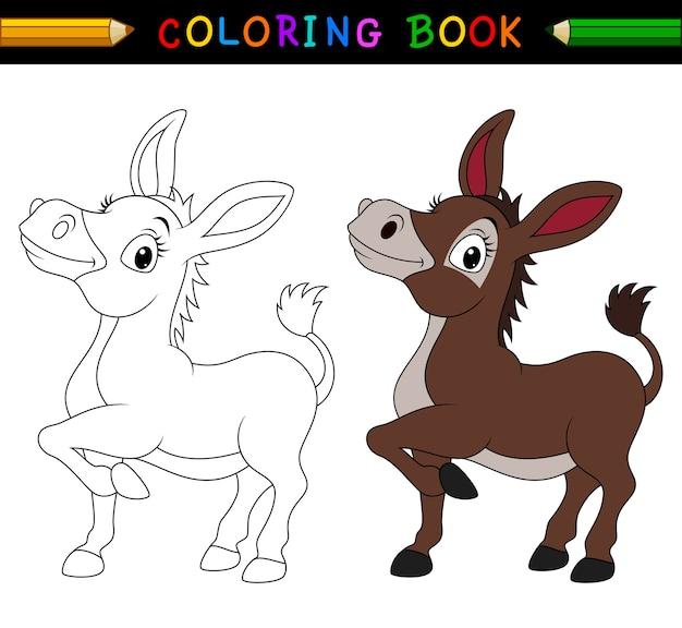Image Of Imagen Para Colorear Burro Dibujos de Burros para colorear ...