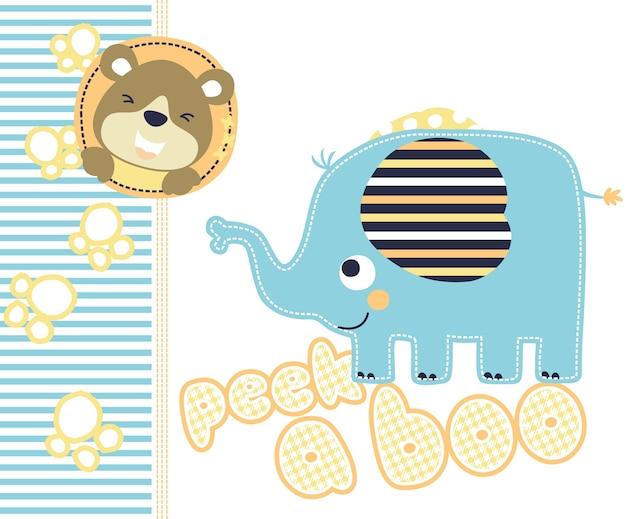 Dibujos Animados Coloridos De Animales Pequenos Descargar Vectores
