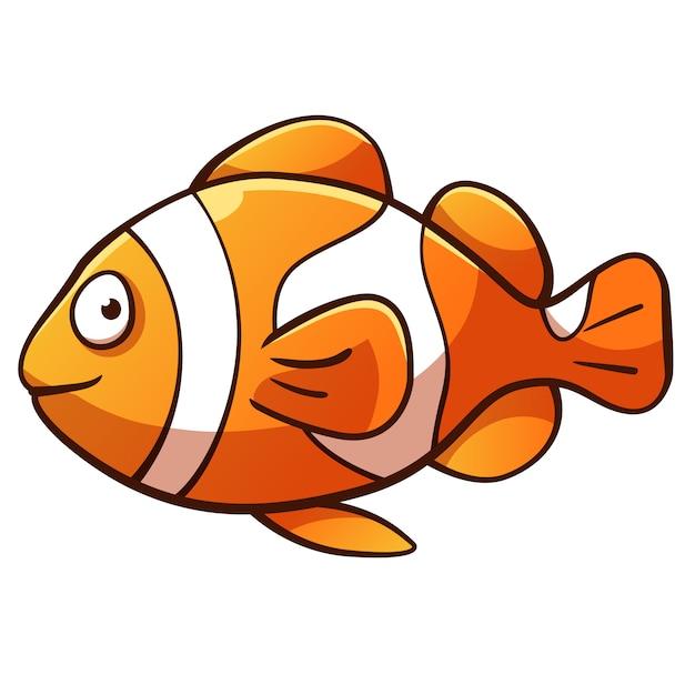 dibujos animados de pez payaso descargar vectores premium