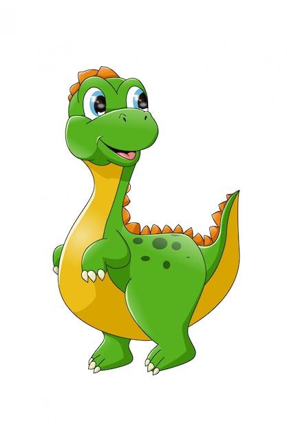 Dibujos Animados De Dinosaurios Bebe Para Colorear Vector Premium Caricaturas en español latino y subtituladas. https www freepik es profile preagreement getstarted 9652759