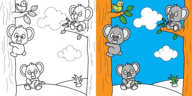 Dibujos Para Colorear Juegos De Cerebro Para Niños Vector