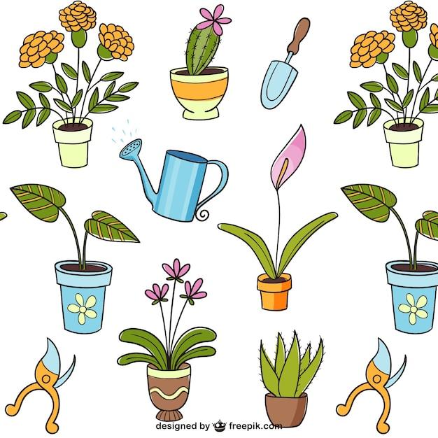 dibujos de plantas descargar vectores gratis
