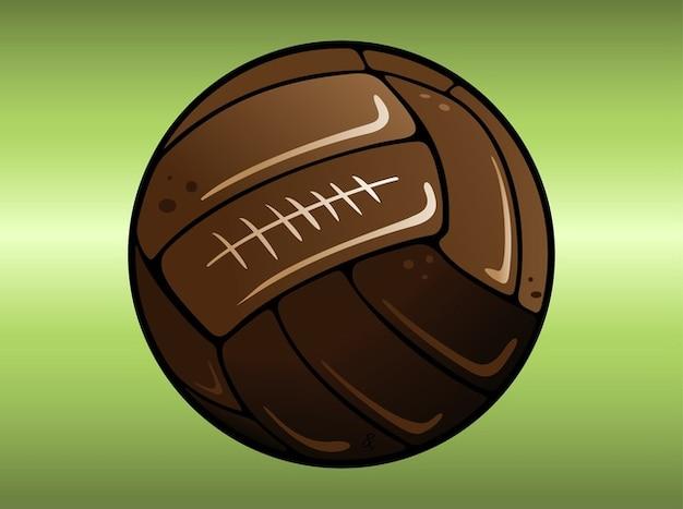 Deportes De Pelota Descargar Vectores Gratis: Dirty Vector De La Pelota De Fútbol De Dibujos Animados