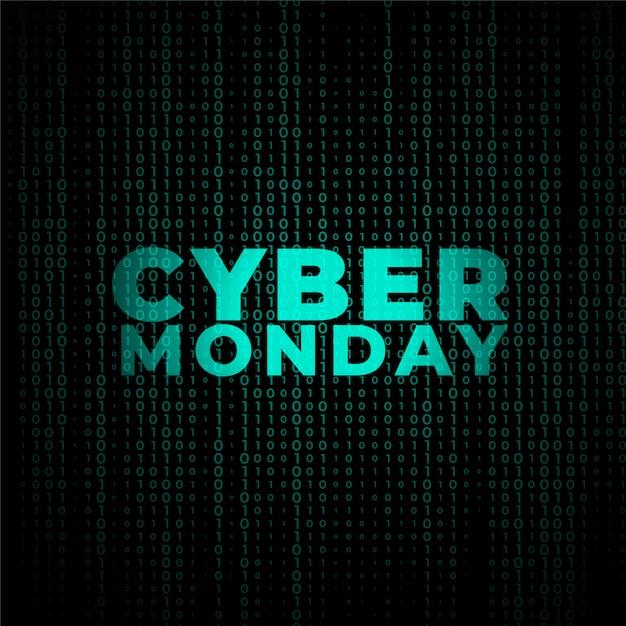 Diseño de banner de estilo de tecnología digital cibernético vector gratuito