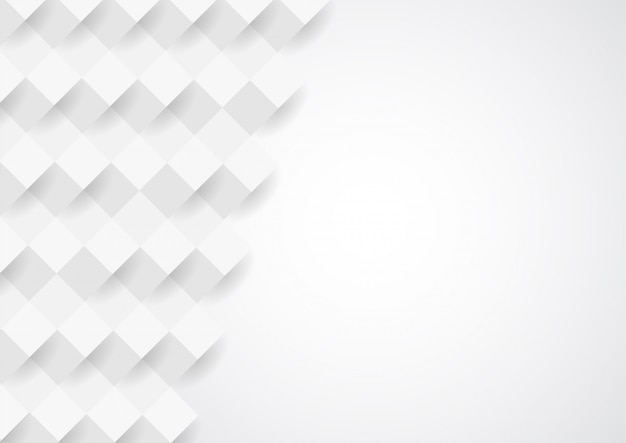 Diseño blanco abstracto del fondo de la textura Vector Premium