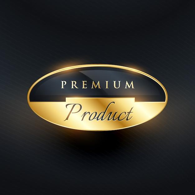 Premium Black Label: Diseño Brilloso De Etiqueta De Lujo