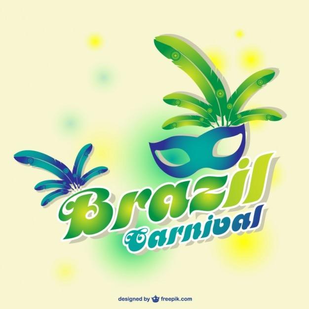 Diseño carnaval brasil | Descargar Vectores gratis