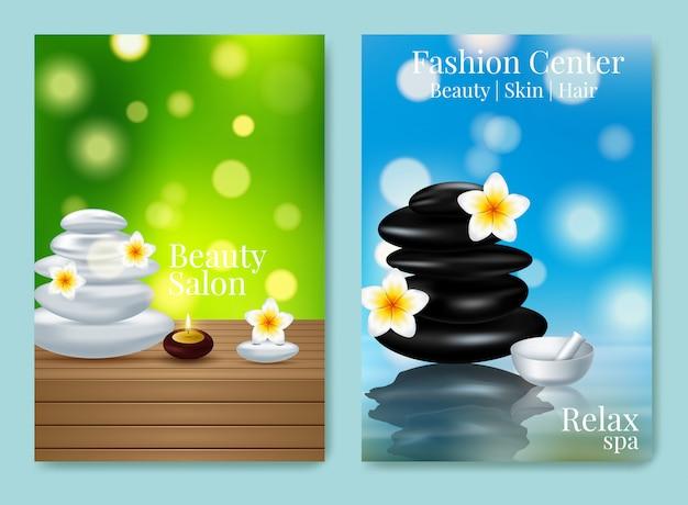 Diseño de cartel publicitario para producto cosmético para catálogo. Vector Premium