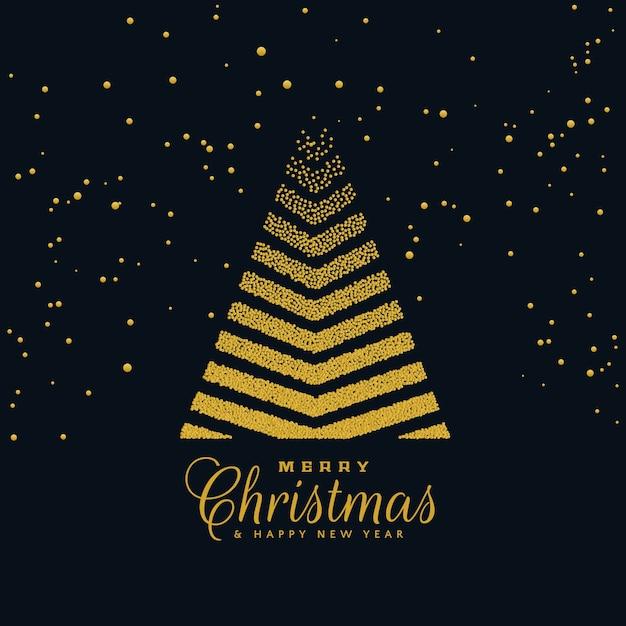 Dise o creativo del rbol de navidad en fondo oscuro - Arbol navidad diseno ...