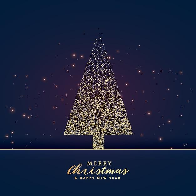 Dise o creativo del rbol de navidad hecho con fondo de - Arbol de navidad diseno ...