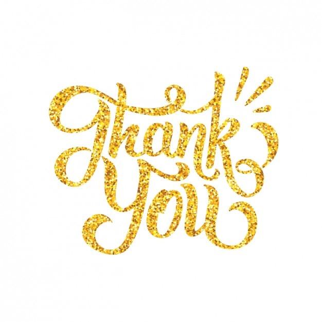 Thank U Next Descargar Gratis: Diseño De Agradecimiento Con Letras Doradas