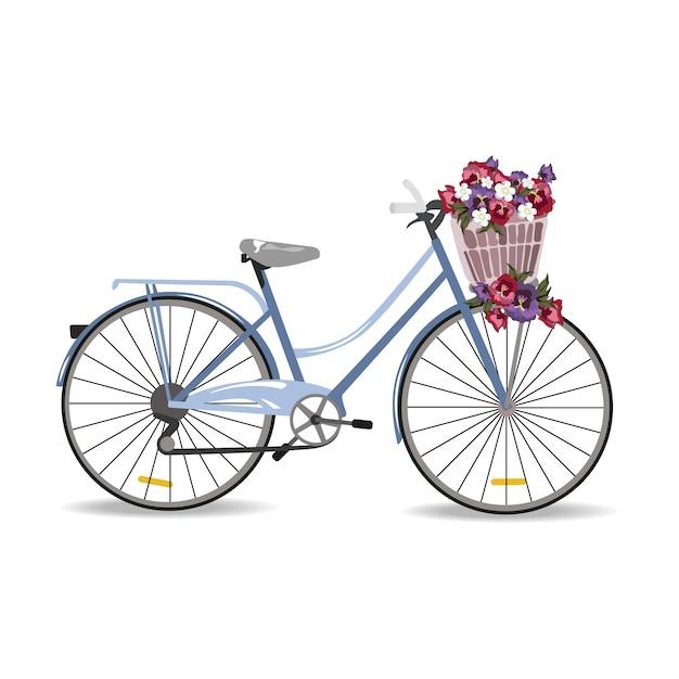 Dise o de bicicleta vintage descargar vectores gratis for Disenos para bicicletas