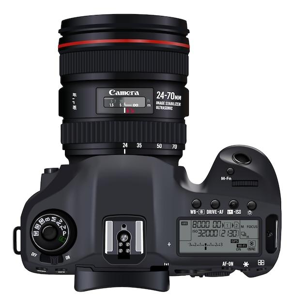Dise o de c mara con vista superior descargar vectores for Camera blueprint maker gratuito