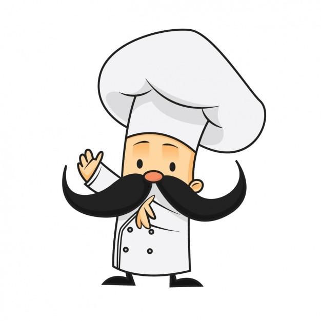 Dise o de chef a color descargar vectores gratis - Kawaii kochen ...
