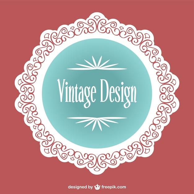 Dise O De Etiqueta Vintage Descargar Vectores Gratis